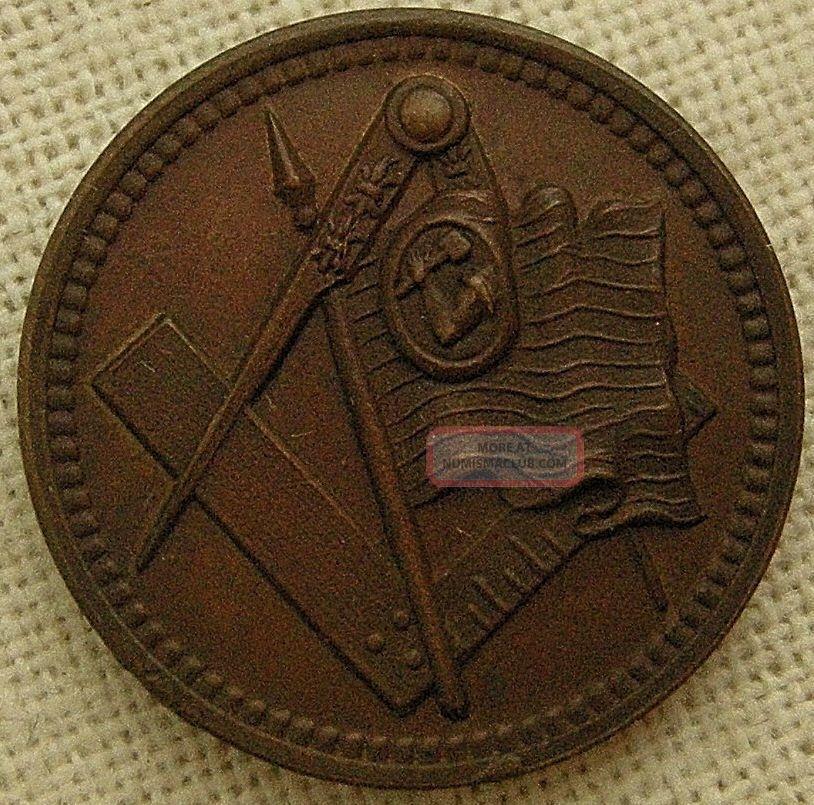 Semi Centennial Of The Order Of United American Mechanics,  Philadelphia,  1895 Exonumia photo
