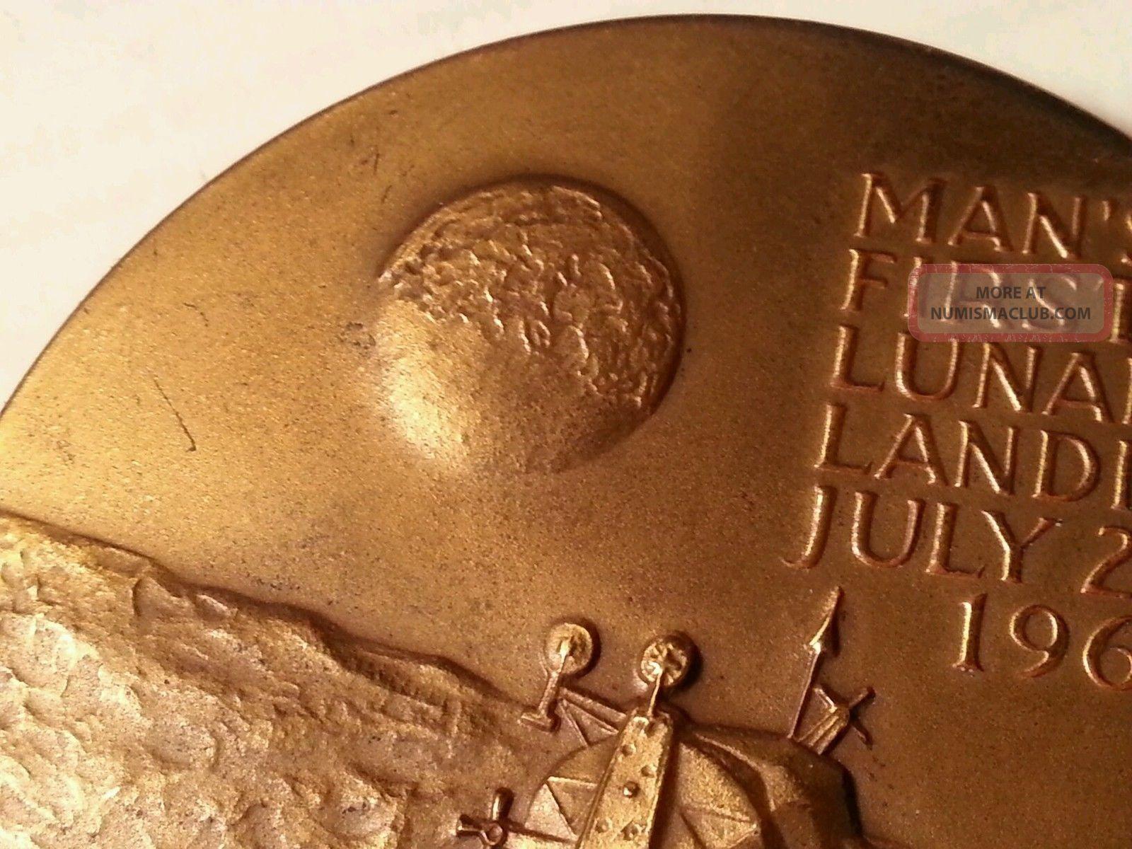 silver medallion apollo 11 coin - photo #31