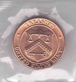 Treasury United States Philadephia Uncirculated Token 14 photo