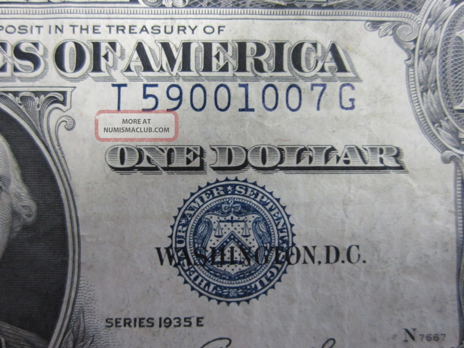 How much is a silver certificate dollar bill worth from 1935 1935 e one dollar silver certificate seal shift error 1betcityfo Images