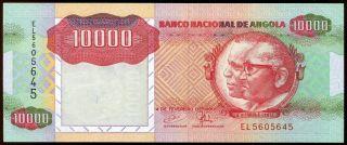 Angola 1991 Uncirculated 10,  000 10000 Kwanzas,  Pick 131 photo