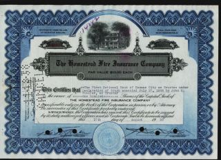 The Homestead Fire Insurance Company Maryland 1938 photo