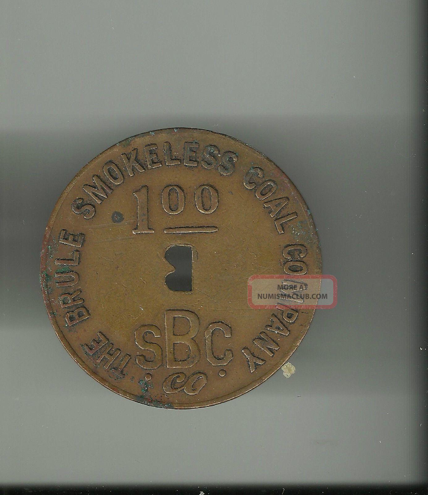 The Beule Smokeless Coal Company 1945 $1 Scrip Dated Stocks & Bonds, Scripophily photo