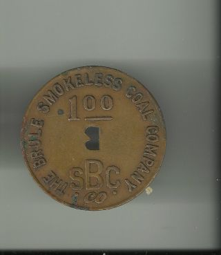 The Beule Smokeless Coal Company 1945 $1 Scrip Dated photo