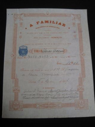 Cooperative Society Bread - Two Share Certified 1927 photo