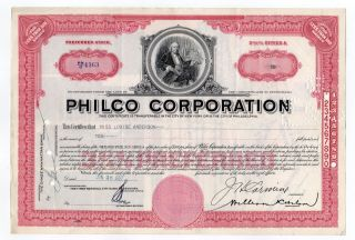Philco Corporation Stock photo