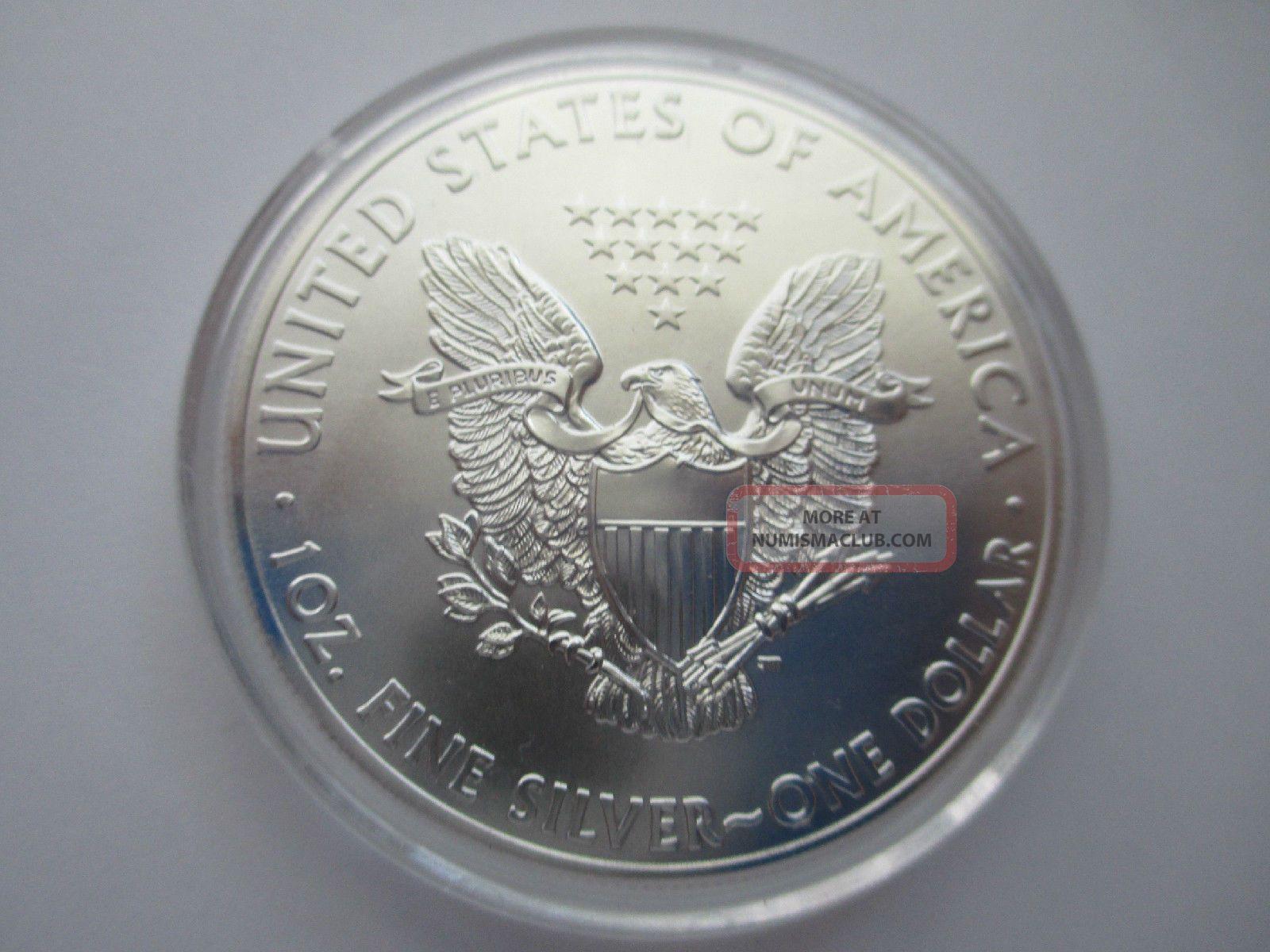 2014 American Silver Eagle Gem Bu 1 Troy Ounce 999 Fine