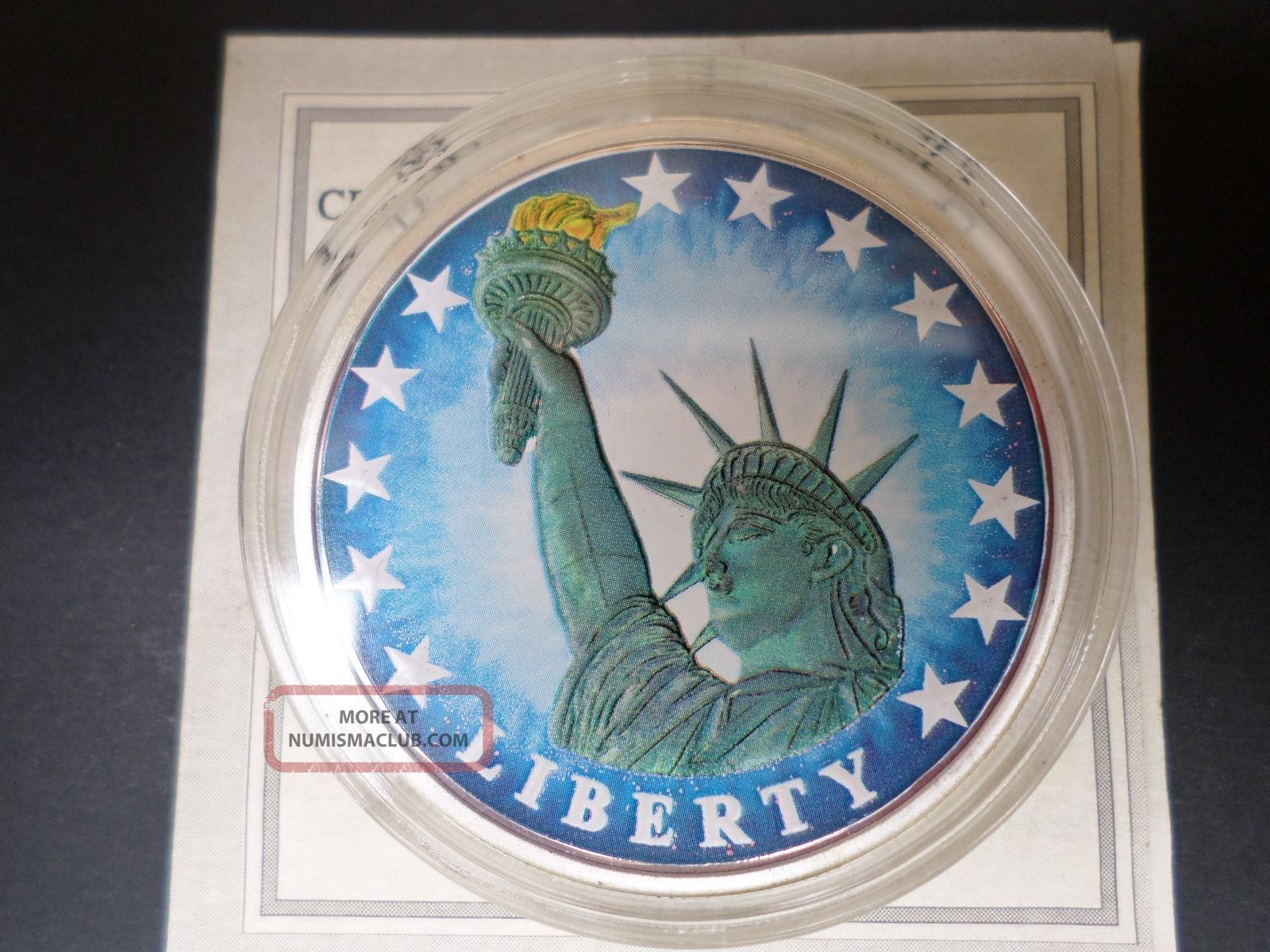 The Birth Of Our Nation Statue Of Liberty Coin