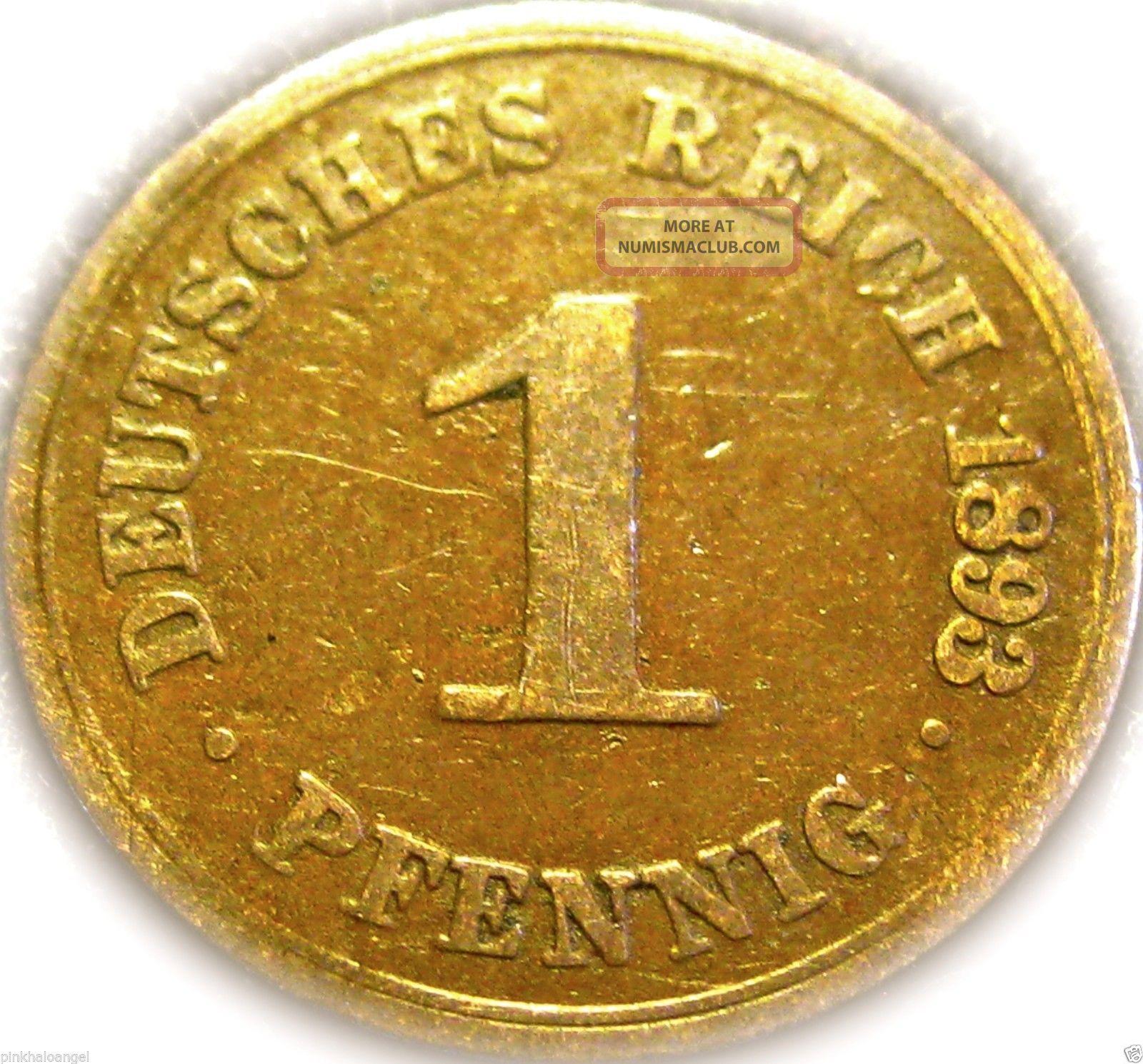 german pfennig coins