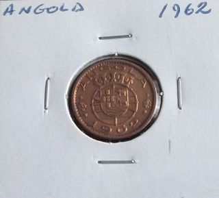 Portugal / Angola - 20 Centavos - 1962 photo