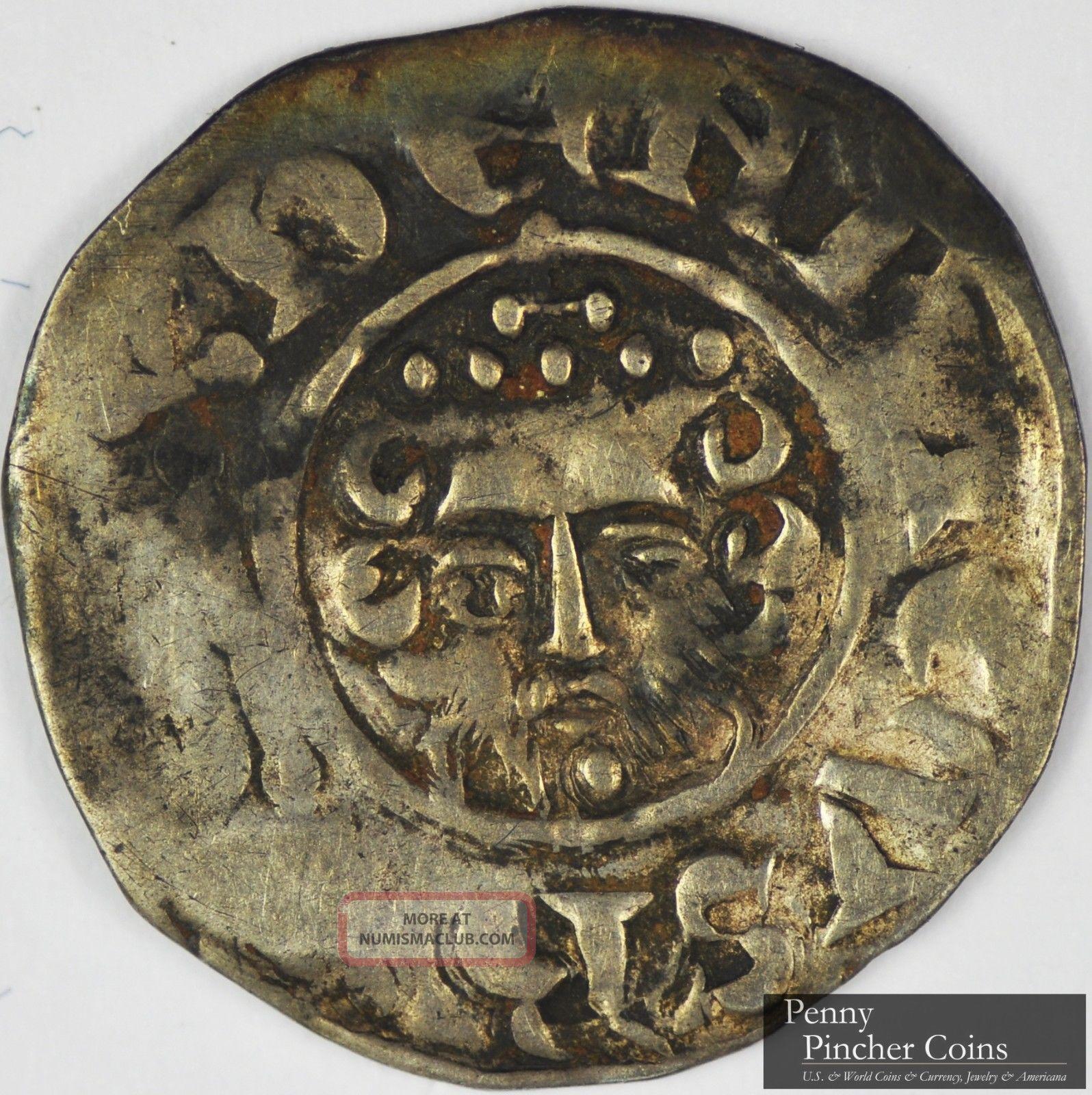 England Nd 1216 72 Henry Iii Ar Penny Rare Medieval