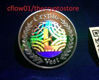 Cryptovest Physical Ltc Litecoin First Edition.  Listing 1 (, Do Lealana Casascius photo