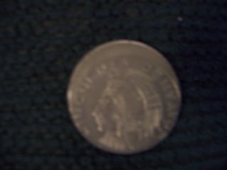 Coin Error Mexico Off Center 50 Centavos Mis Struck photo