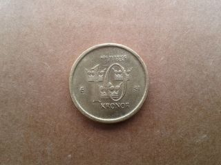 Sweden 2006 Coin 10 Kronor,  Sverige King Carl Xvi Gustaf photo