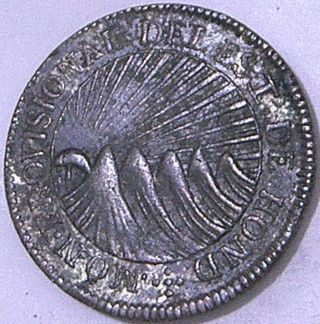 Honduras 1833 T.  F.  2 Reales - - - Rare Issue - - - photo