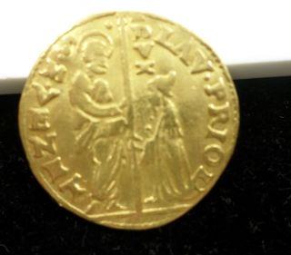 1556 - 59 Venice Italy Gold 1z Fr - 1255 Gem Bu Nr photo