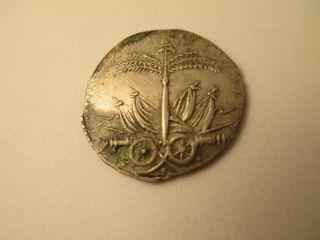 Haiti Silver 25 Centimes,  An12,  1815 photo