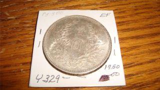 1914 China Republic Fat Man Silver Dollar Y329 Xf photo