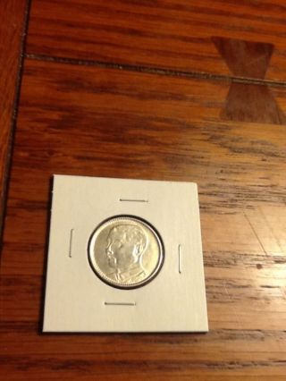 1928 China Republic 2 Jiao Silver Coin photo