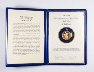 Barbados $150 Gold Proof Coin