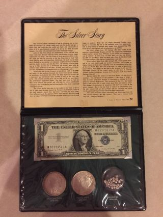 The Silver Story (1883 Morgan Dollar And 1922 Piece Dollar) photo