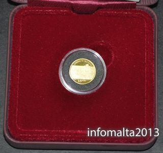 2013 Malta De Provence Gold Coin Proof And Certificate photo