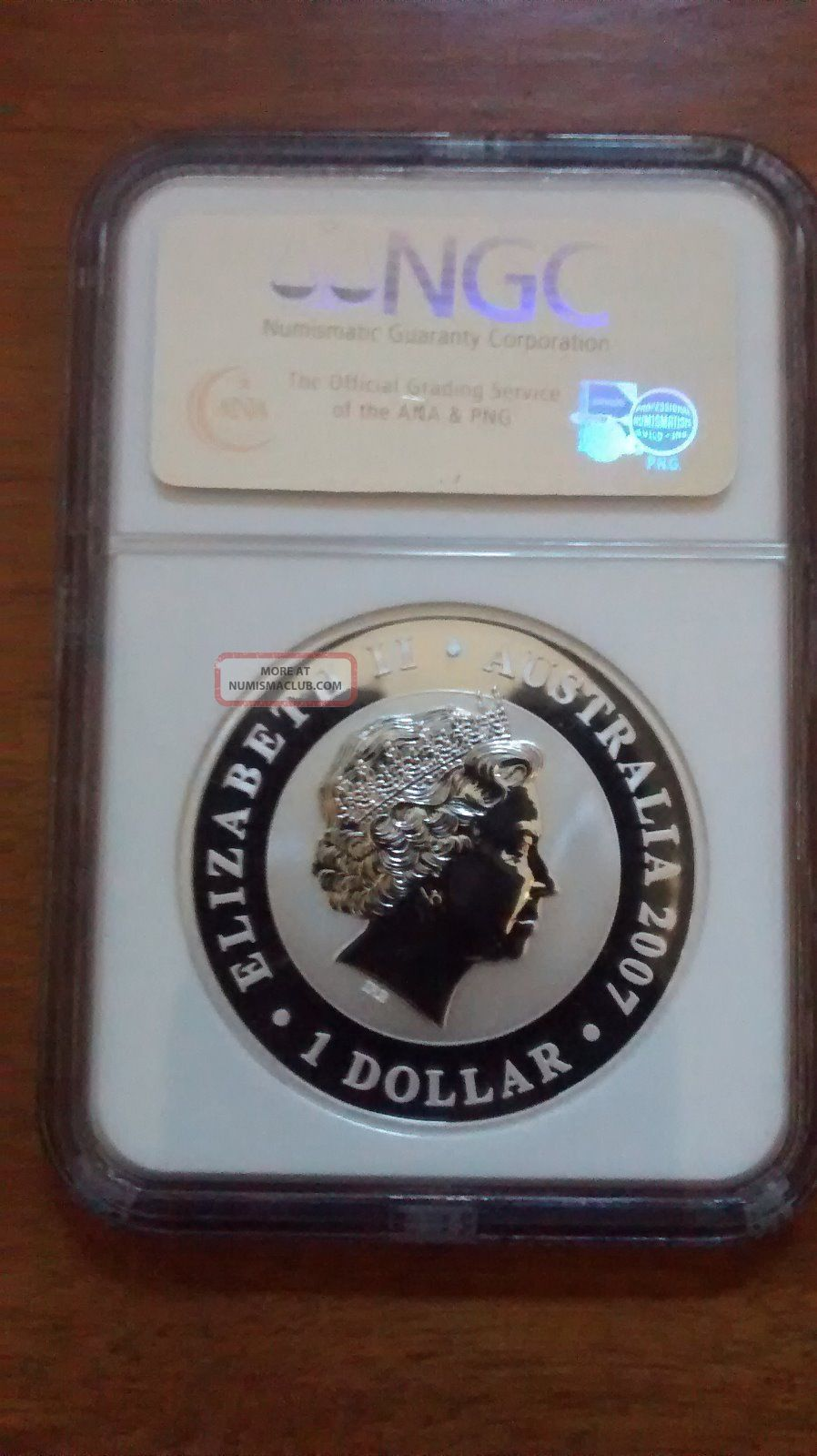 2007 Australia Koala 1 Oz 999 Silver Coin Ngc Ms 69 First