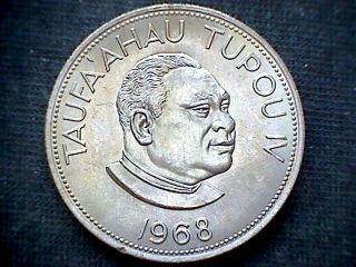 Tonga 1968 Pa ' Anga,  Taufa ' Ahau Tupou Iv,  Unc photo