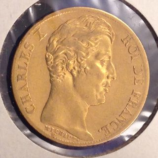 1828 - A France Gold 20 Francs [auto.  Combined Shipping] (17473) photo