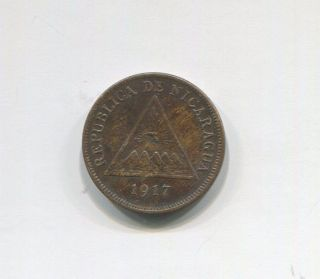 Nicaragua - Centavo,  1917 photo