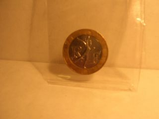 1991 - 10 - Francs Coin From France photo