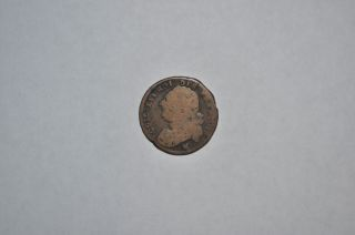 French Coin France Louis Xvi 1792 Worn Reverse photo