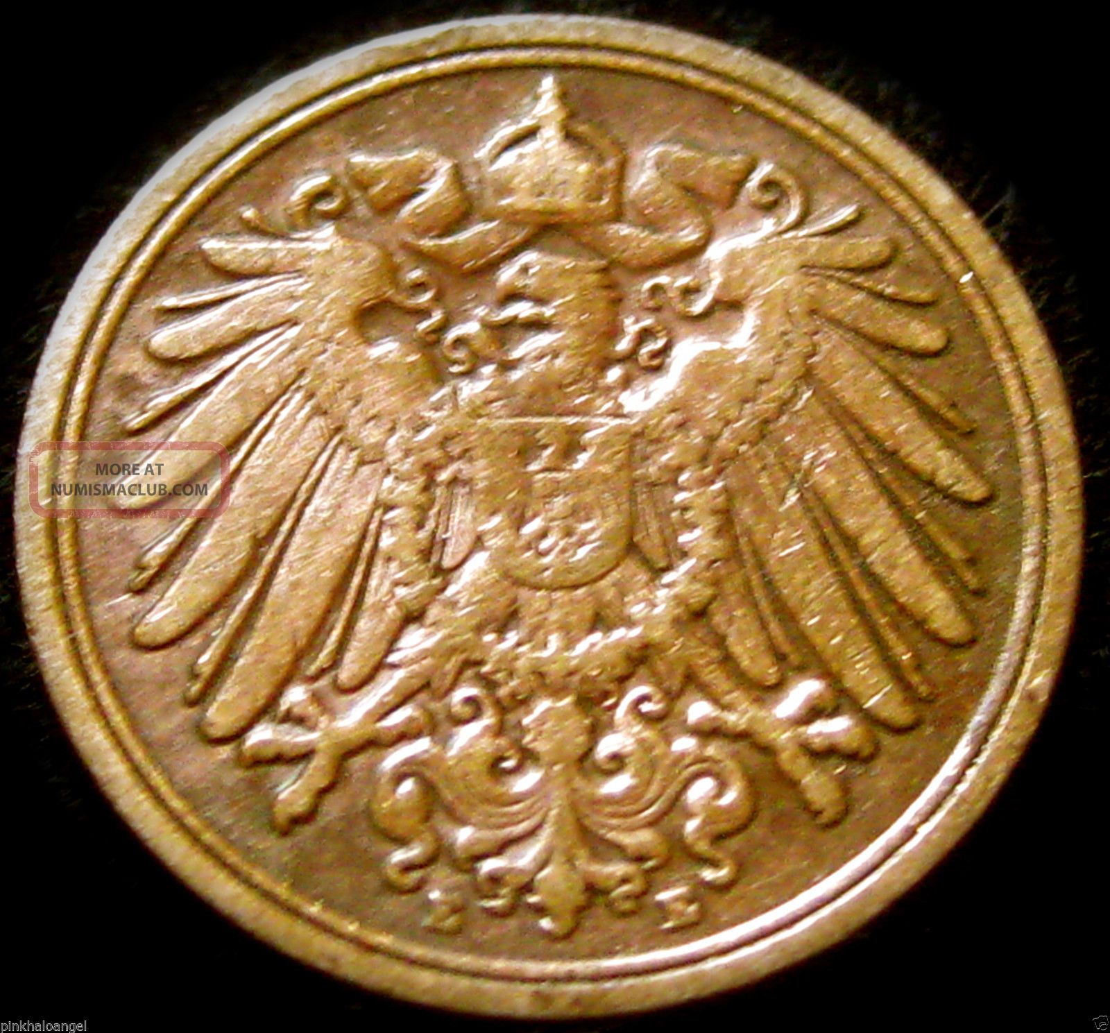 The German Empire 1898e Pfennig - Great Coin S&h Discounts Germany photo