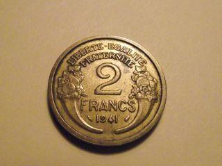 788 France; 2 Francs 1941 photo