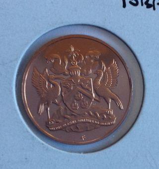 1973 Trinidad & Tobago 5 Cent Proof photo