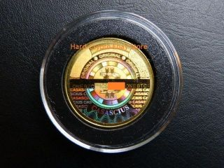 2012 Casascius 1 Btc Collector ' S Token Physical Bit Coin - Fully Loaded photo