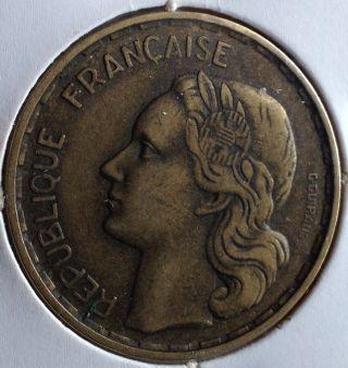 France 50 Francs 1954 »» Km 918.  1 »»»»»»»»»»» Low Mintage ««««««««««« photo