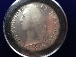 1767 Large French (dollar) Ecu France Bayonne Louis Xv photo