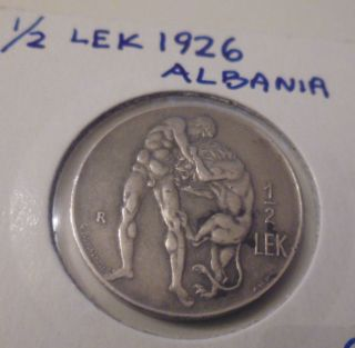 Albania 1/2 Lek,  1926 photo