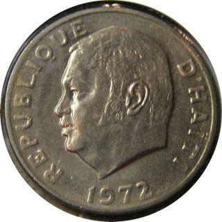 Elf Haiti 50 Centimes 1972 Fao photo