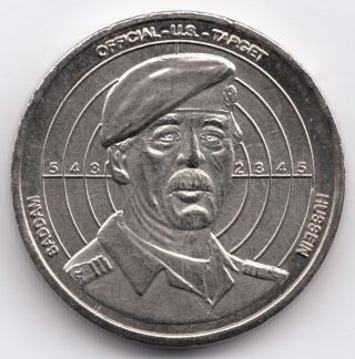 Token Issue,  Saddam Hussein's Legacy,  Uncirculated. photo