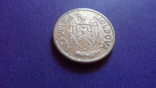Moldova 2006,  Five Bani.  Modern Coin. photo