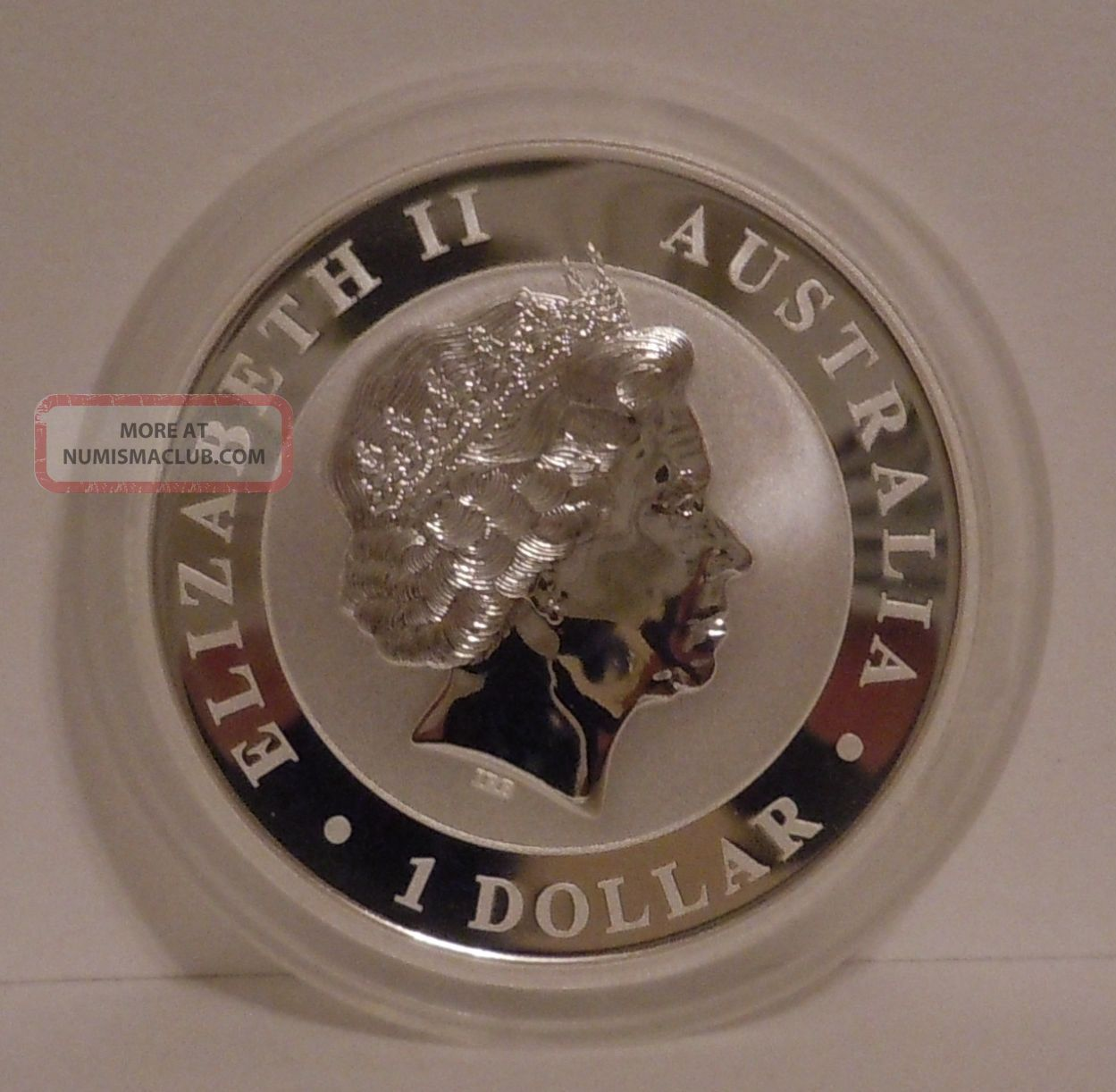 2014 Australia 1 Oz Wedge Tailed Silver Eagle Gem Bu