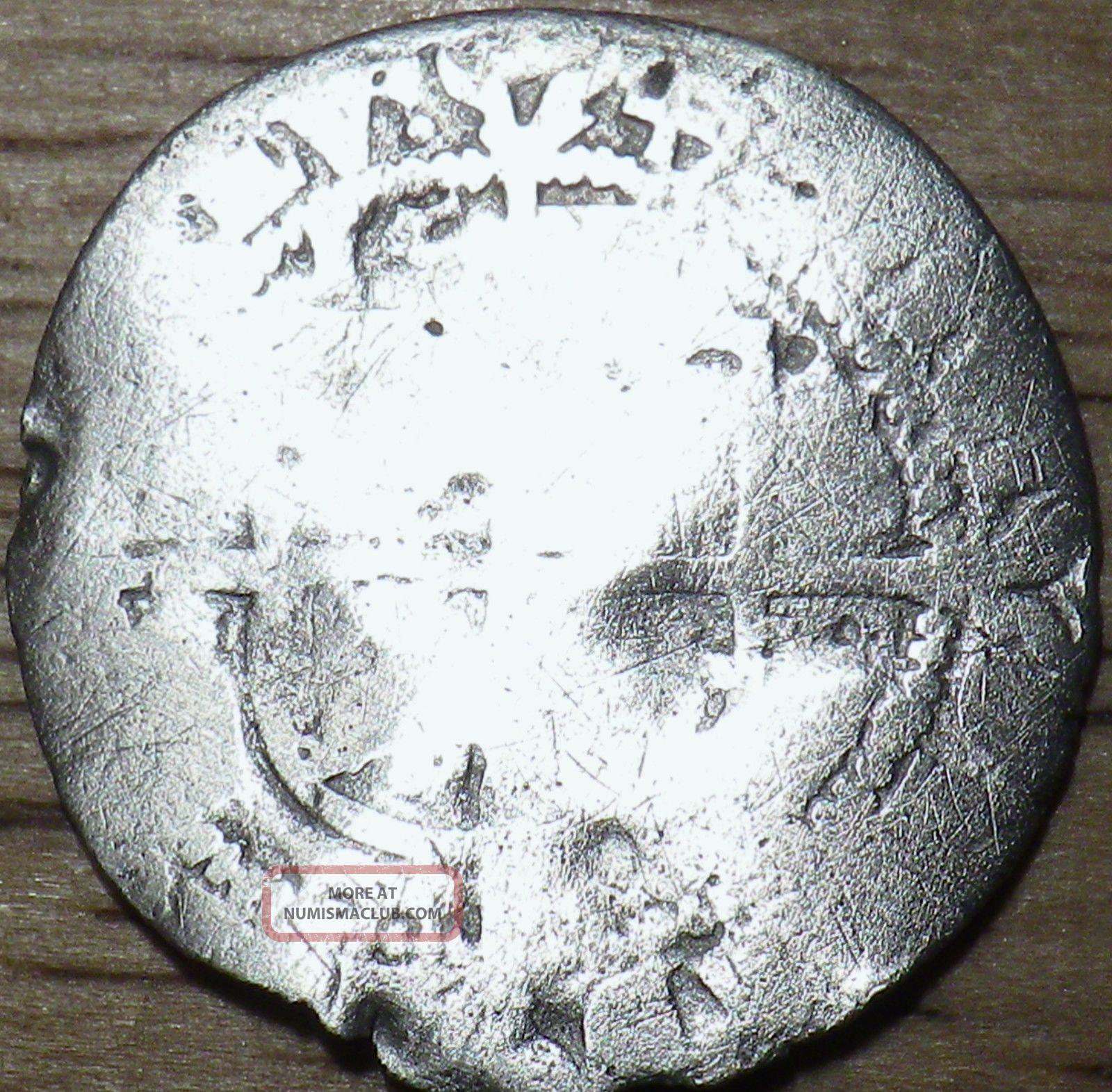 1578 Elizabeth I Silver Hammered 3 Pence - Look UK (Great Britain) photo