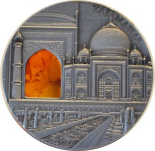 2011 Palau Taj Mahal - Mineral Art Iv 2oz Silver photo