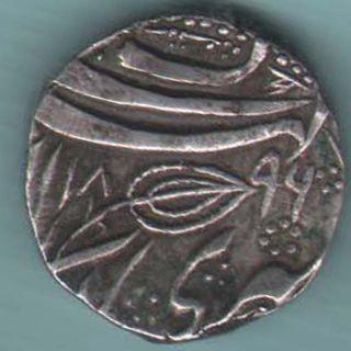Sikh Empire - 1896 - Ranjit Singh /mihan Singh - Kashmir One Rupee Coin W - 79 photo