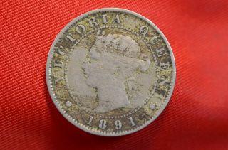 1891 Jamaica Half Penny photo