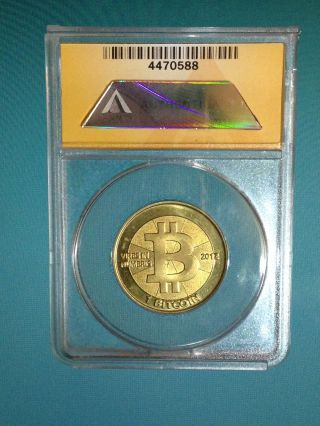 2012 Casascius Ms - 63 1 Btc Collectable Token Fully Funded photo