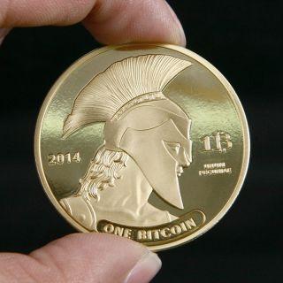 3x Titans Physical Bitcoins Copper 1oz Bitcoin Btc Coin Gift Not Casascius photo