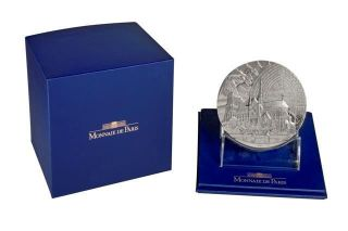 France 2013 850th Anniversary Of Notre - Dame De Paris Cathedral 650g Medal photo
